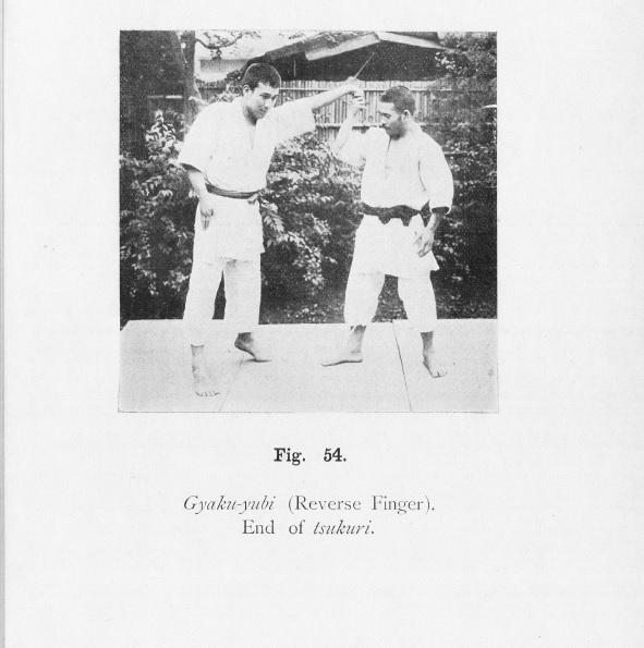 finger locks in older judo sources Gyakuy10