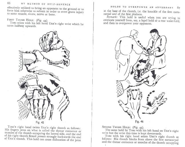finger locks in older judo sources Kawais10