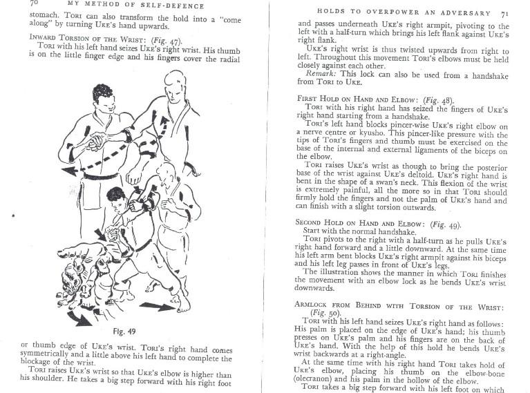 finger locks in older judo sources Kawais11