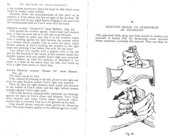 finger locks in older judo sources Kawais13