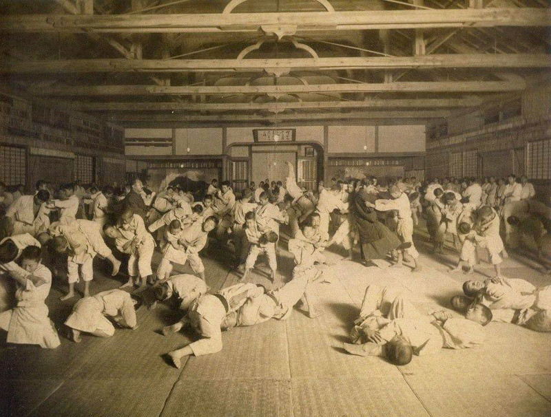 old japanese judo photos Oldsch10