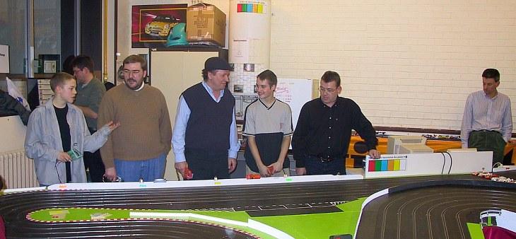 Ecaussinnes première ... jeudi 4 Mars 2003 Driver10