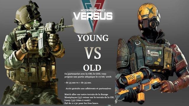 PARTIE DU 17 JUIN 2018  YOUNG VS OLD Affich10