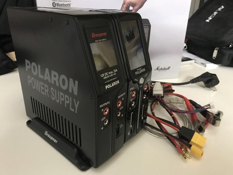 VENDU  -  Chargeur Polaron EX Combo Noir 2x400W 12V/220V Img_0011