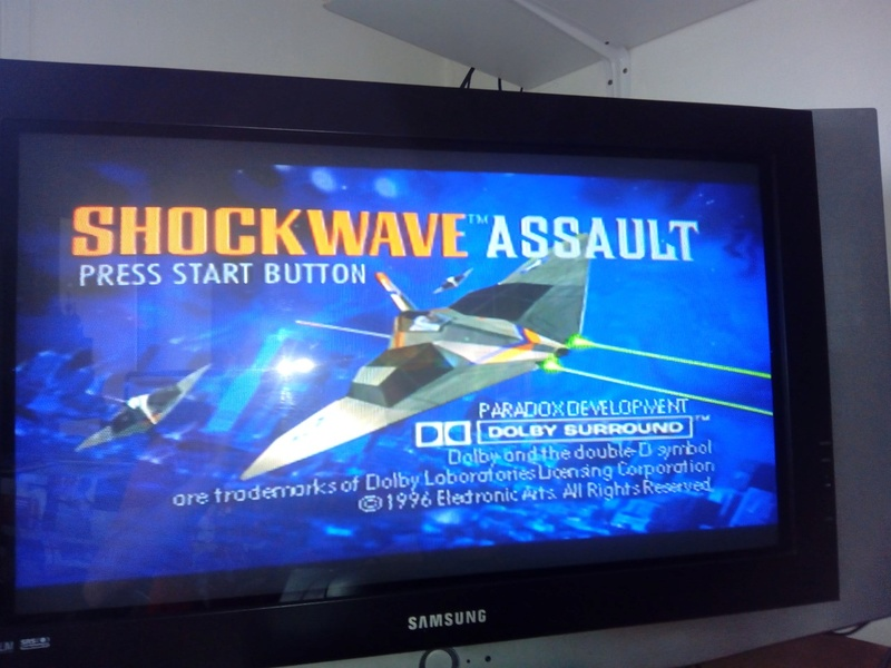 Console SEGA Saturn Complète + Shockwave Assault 411