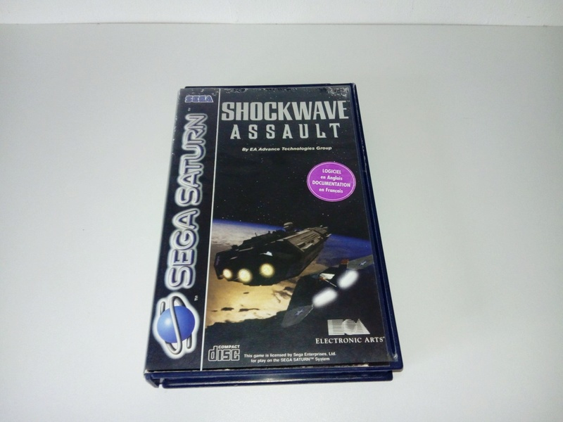 Console SEGA Saturn Complète + Shockwave Assault 511