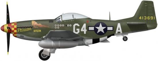 "[TAMIYA -1/32] P-51D 44-13318 ""Frenesi"" 357thFG 364th FS Colonel Thomas L Hayes 51653110"