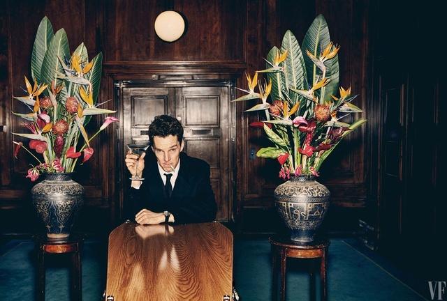 Patrick Melrose (série adaptée des romans d'Edward St Aubyn) avec Benedict Cumberbatch (2018) Patric15