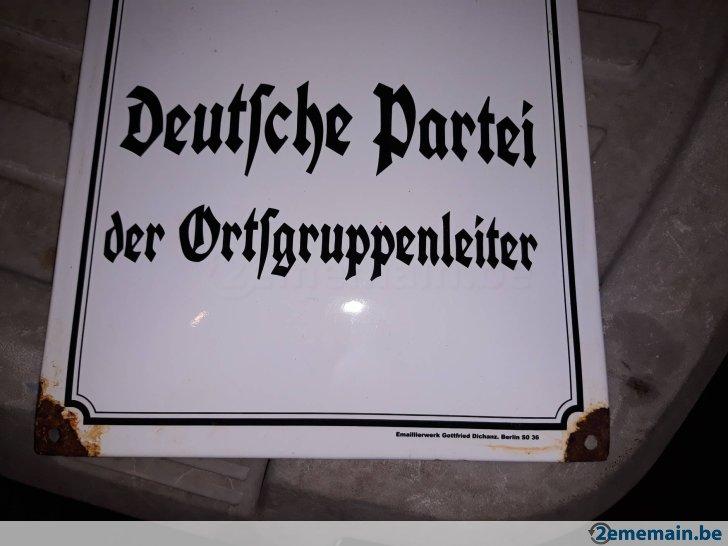 plaques allemande 38967210