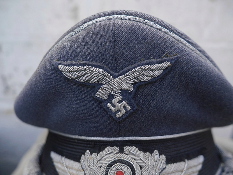 casquette d'officier luft P1170811