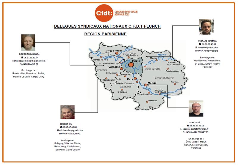 Affichage des panneaux syndicaux C.F.D.T FLUNCH région parisienne  Dsn_id11