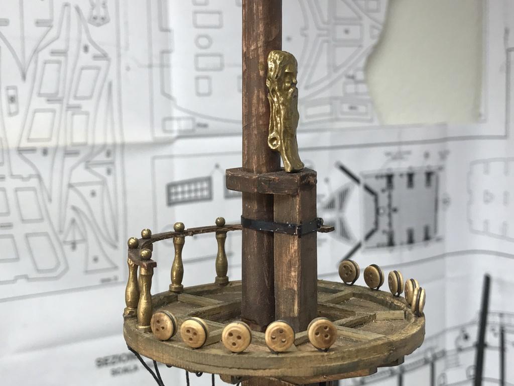 Le Soleil Royal im Maßstab 1:50 nach Plänen von Mantua gebaut von Peter Fischer - Seite 9 Img_1015
