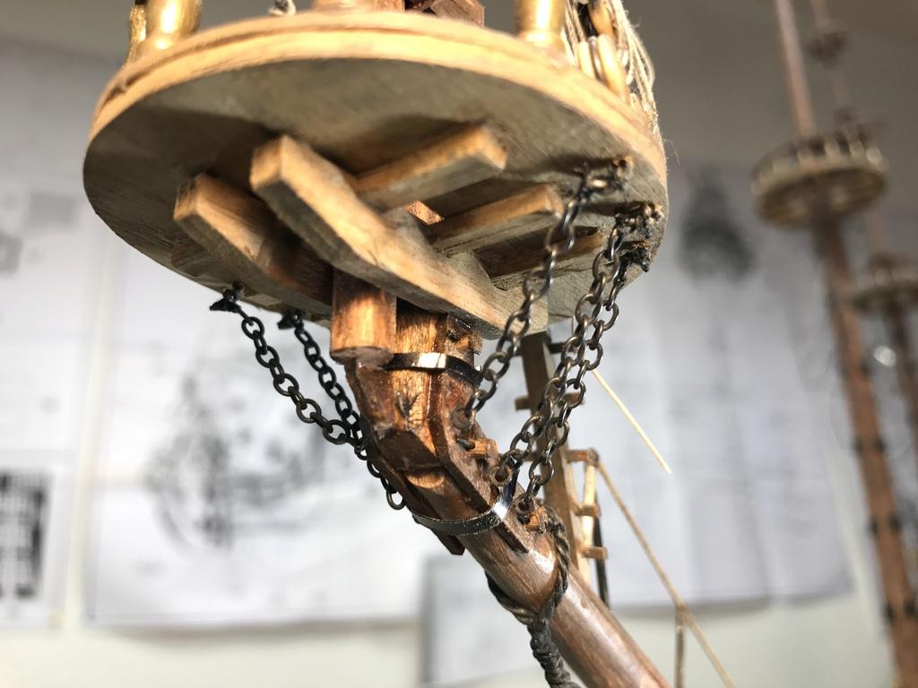 Le Soleil Royal im Maßstab 1:50 nach Plänen von Mantua gebaut von Peter Fischer - Seite 9 Img_1112