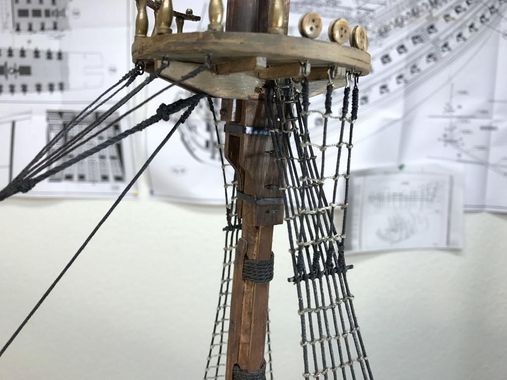 Le Soleil Royal im Maßstab 1:50 nach Plänen von Mantua gebaut von Peter Fischer - Seite 9 Img_1121