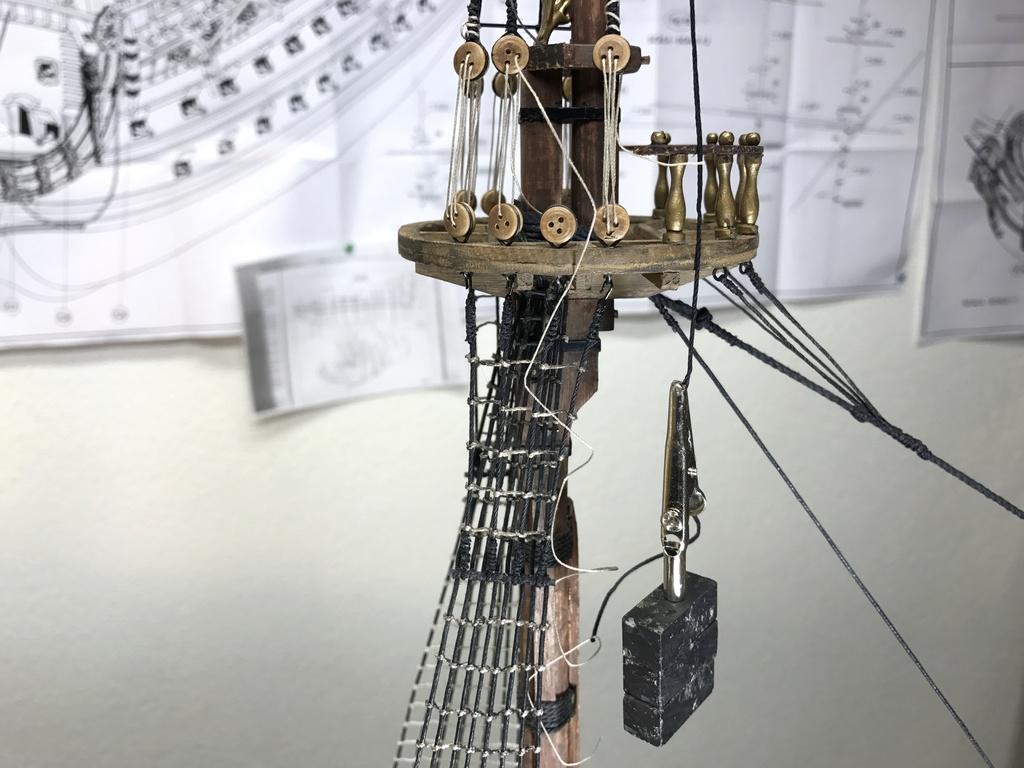 Le Soleil Royal im Maßstab 1:50 nach Plänen von Mantua gebaut von Peter Fischer - Seite 9 Img_1124