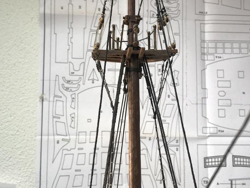 Le Soleil Royal im Maßstab 1:50 nach Plänen von Mantua gebaut von Peter Fischer - Seite 10 Img_1210