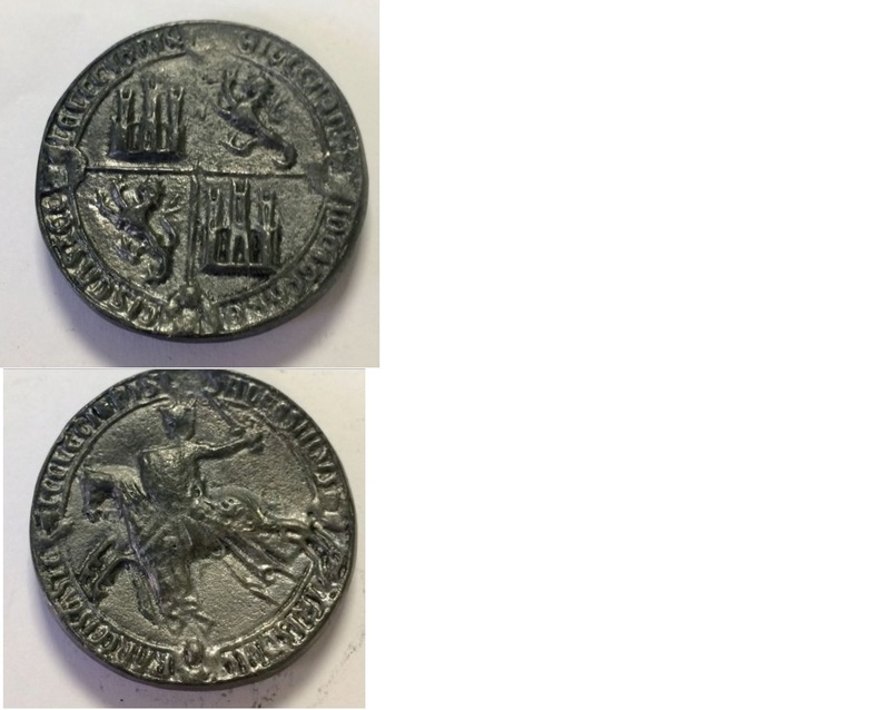 Médaille ou sceau à identifier ? Identi10