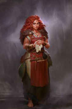 Esmeralda semi-femme ingénieur alchimiste Esmera10