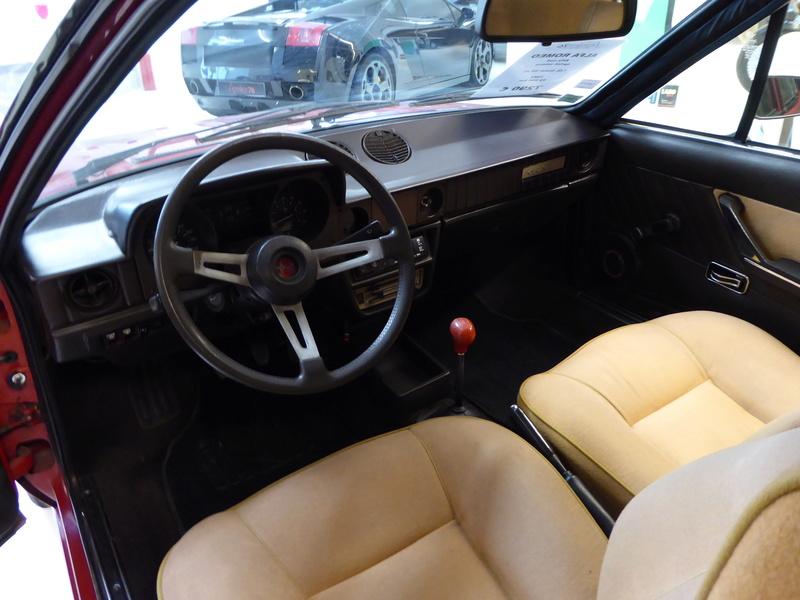 Alfasud Sprint 100% restaurée à vendre !  P1040912
