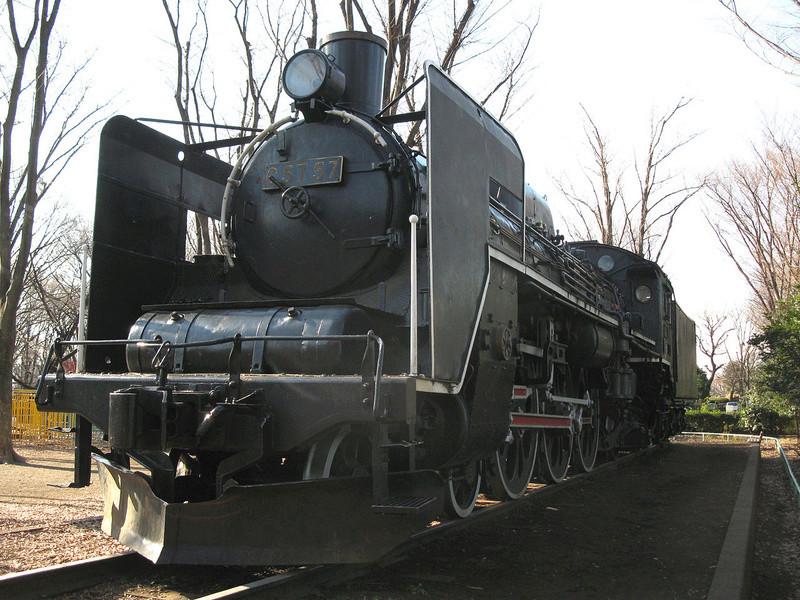 Locomotive C 57 de la JNR  1280px11