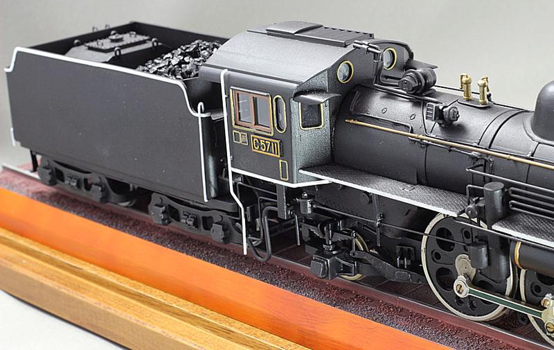Pacific C 57 de la JNR C57-1412