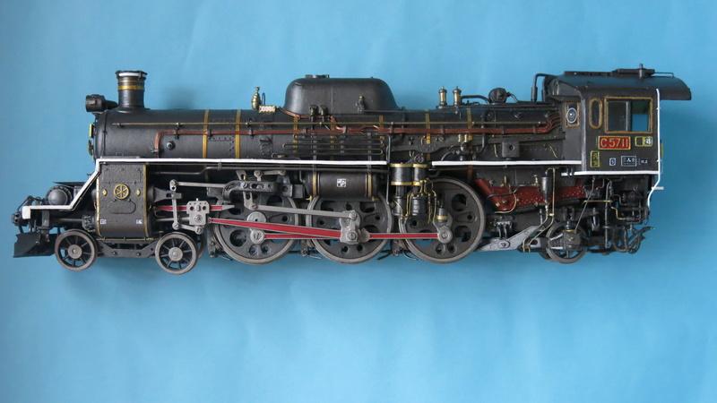 Locomotive C 57 de la JNR  Img_8315