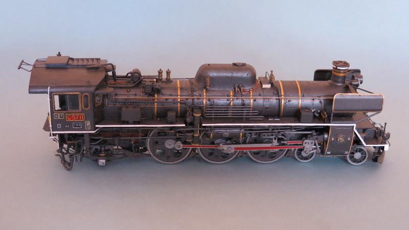 Locomotive C 57 de la JNR  Img_8323