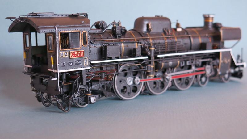 Locomotive C 57 de la JNR Img_8330