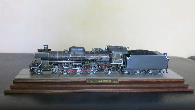 Locomotive C 57 de la JNR  - Page 2 Img_8524
