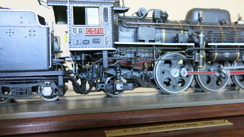 Locomotive C 57 de la JNR  - Page 2 Img_8527