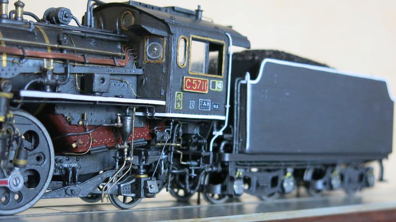 Locomotive C 57 de la JNR Img_8547