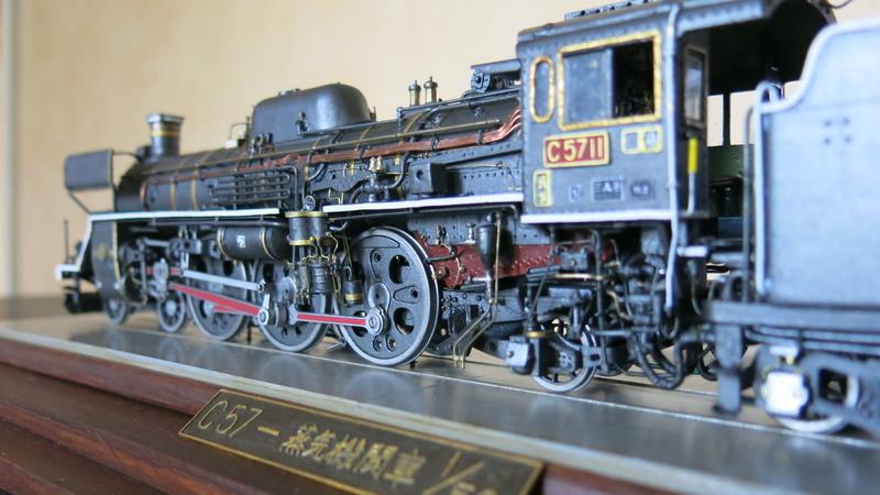 Locomotive C 57 de la JNR Img_8548