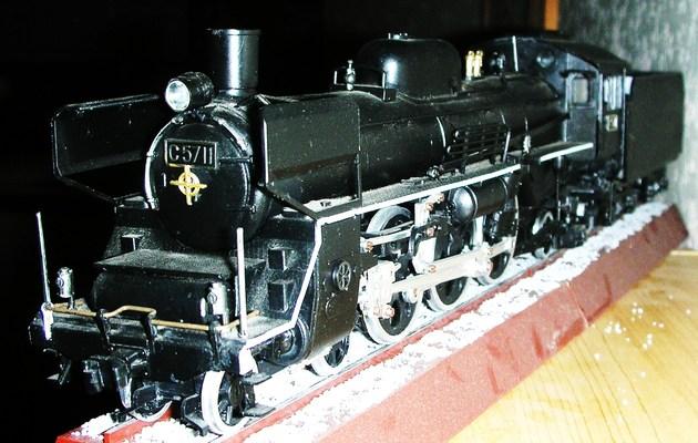 Pacific C 57 de la JNR Rsadbv11