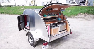 Check out a sleek teardrop trailer – the hidden feature in the back is worth the look 0b33aa10