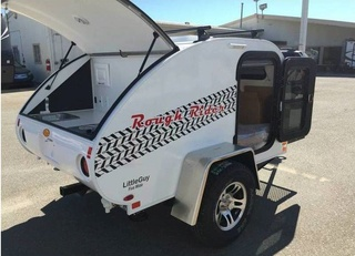 This teardrop trailer is the perfect match for the rugged off-road camper – take a peek C0ca9a10