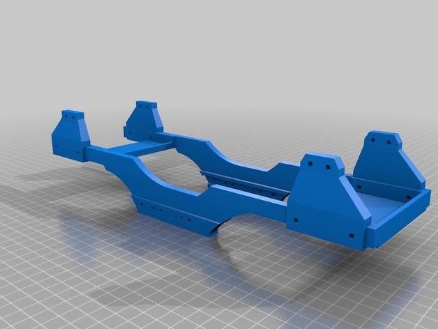Chassis 3D pour Scale et Crawler 1/10 014