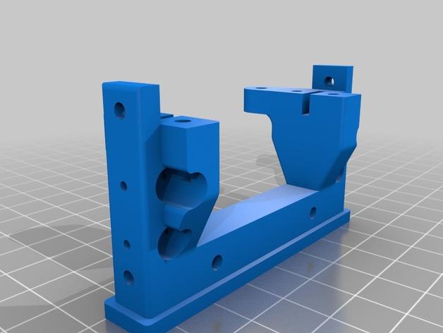 Support de Servo 3D sur Chassis pour Scale et Crawler 1/10 024