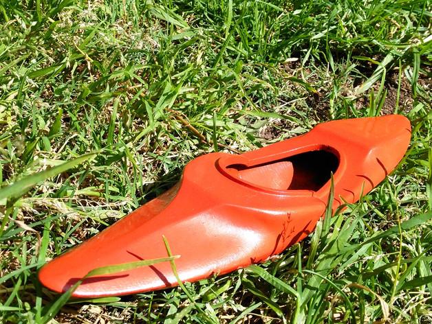 Kayak 3D avec rame pour Scale et Crawler 1/10 030