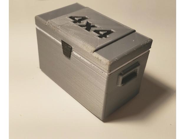 Glacière 3D boitier électronique pour Scale et Crawler 1/10 035