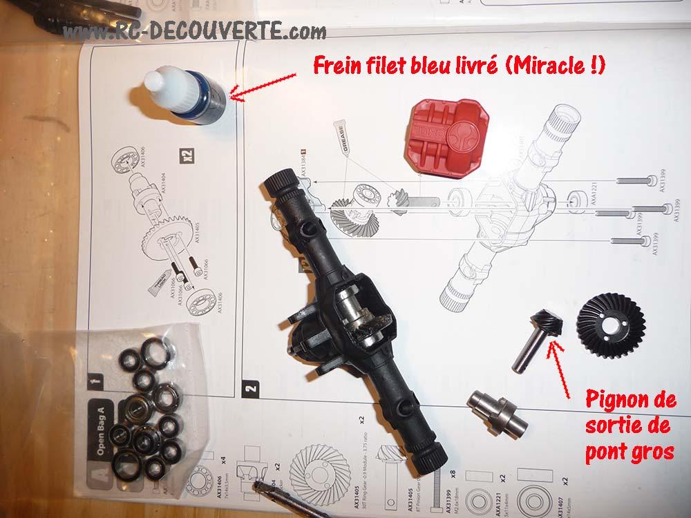 Montage SCX10 II Kit VS RTR : que vaut le SCX10 2 ? 1-mont10