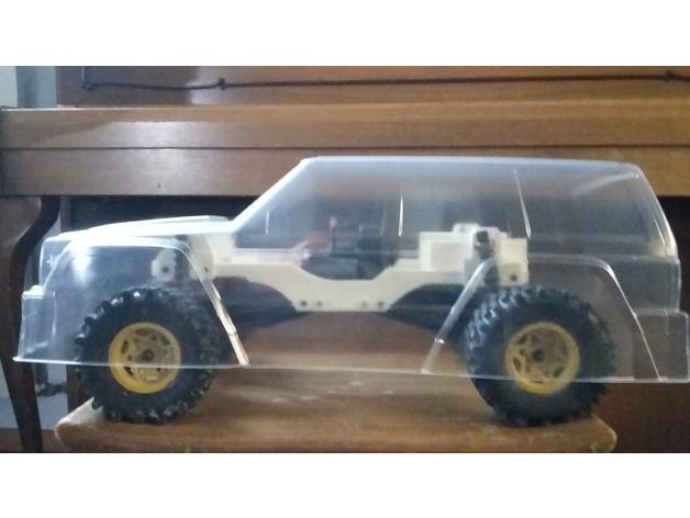 Chassis 3D pour Scale et Crawler 1/10 115