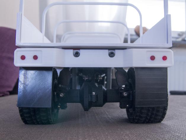 Impression 3D Engin Complet en Entier Camion 4x4 ou 6x6 Scale et Crawler 119