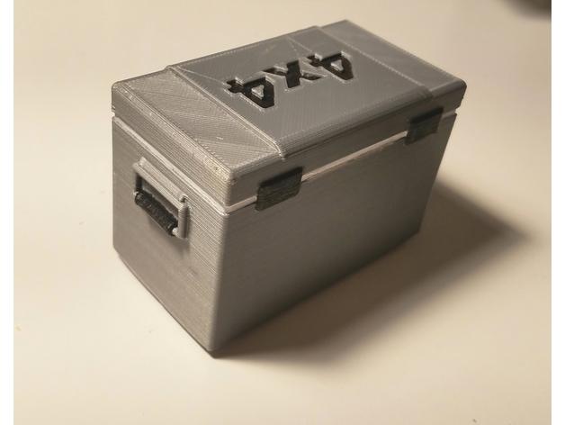 Glacière 3D boitier électronique pour Scale et Crawler 1/10 131