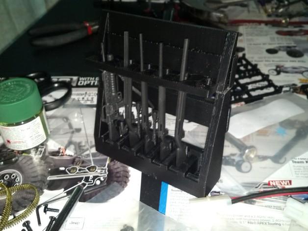 Porte fusil 3D décoration pour Scale et Crawler 1/10 1_prev10