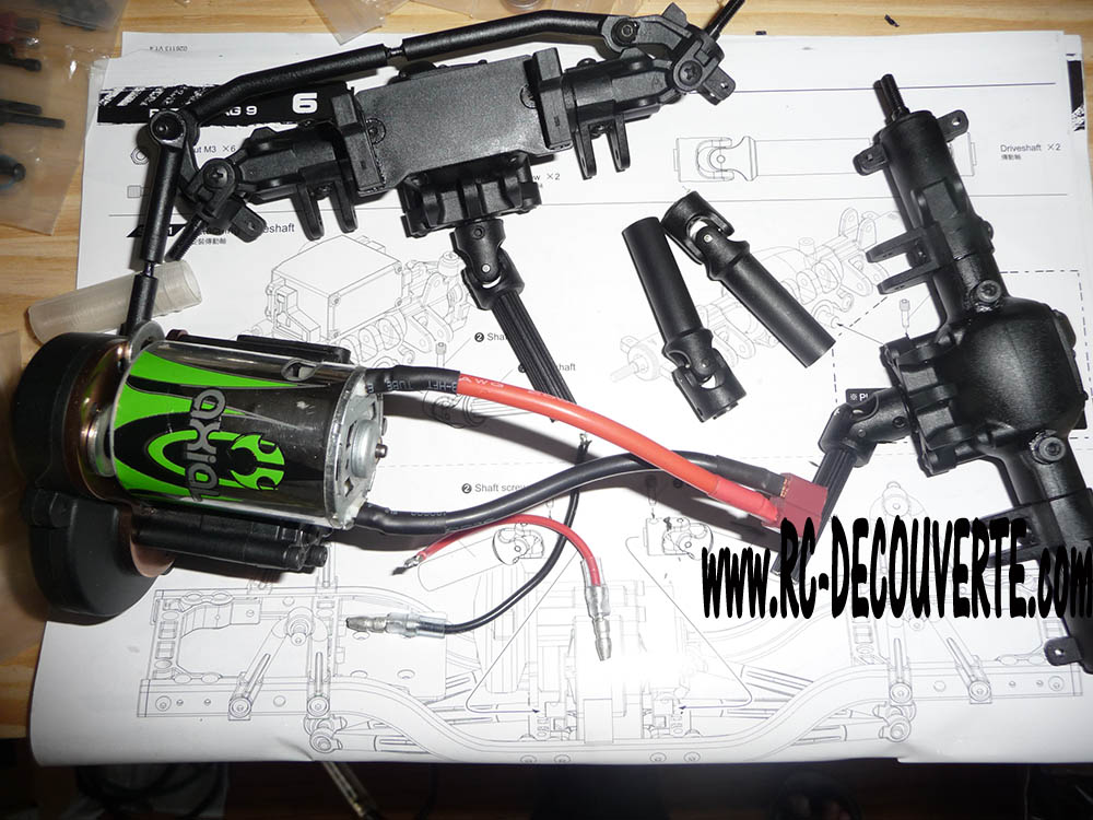 Montage MST CMX Kit : Jeep & Hummer - Page 3 2-mote10