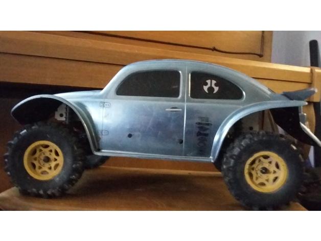 Chassis 3D pour Scale et Crawler 1/10 211