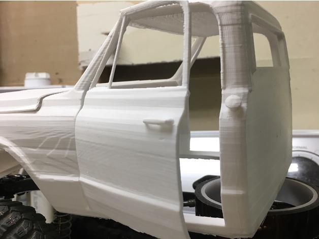Carrosserie 3D GMC 1969 4x4 pour Scx10 et tout Scale et Crawler 1/10 218