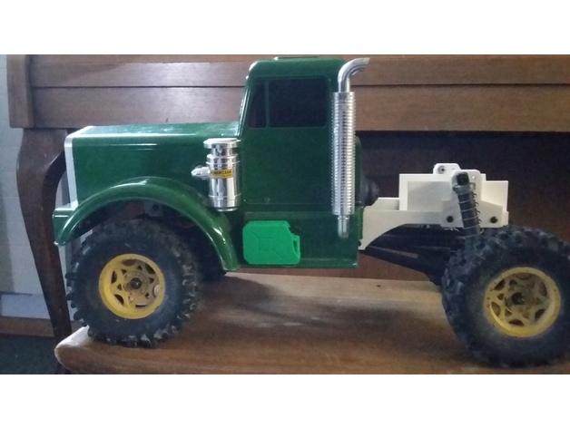 Chassis 3D pour Scale et Crawler 1/10 313
