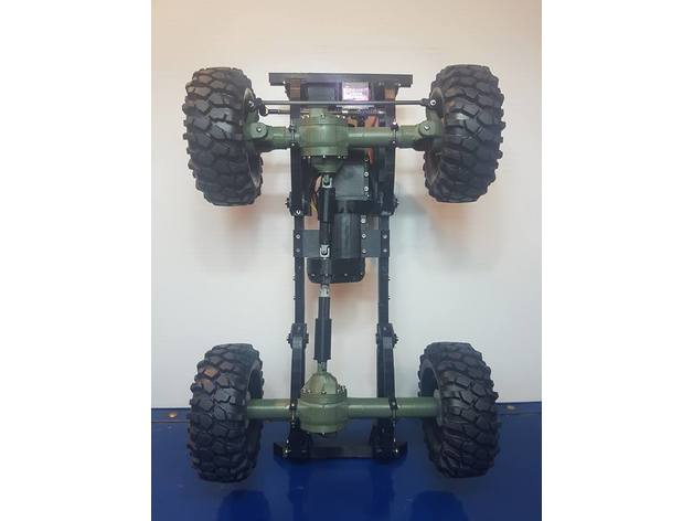 Impression 3D Engin Jeep Willys 4x4 Complet 314