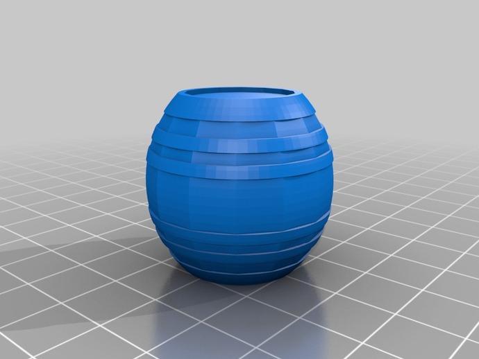 Tonneau 3D et Barrique 3D pour Scale et Crawler 1/10 3c10